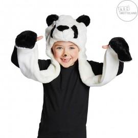 Panda - univ. čepice pro děti i dospělé x