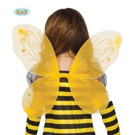 Žlutá motýlí křídla 44 x 37 cm
