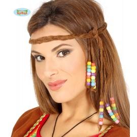 Hippie čelenka s korálky D