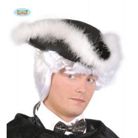 Třírohý klobouk s labutěnkou