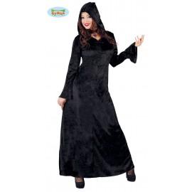 Černé šaty sametové D