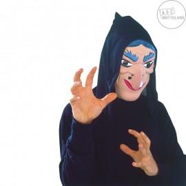 Maska čarodějnice s šátkem D