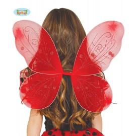 Červená křídla 44 x 37 cm