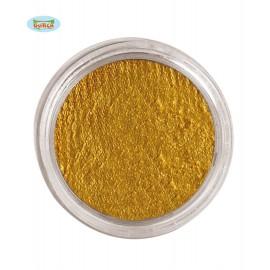 Zlatá aqua barva na tělo