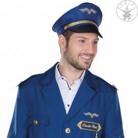 Pilot - čepice modrá