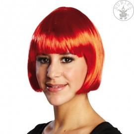 Trixy červená - karnevalová paruka