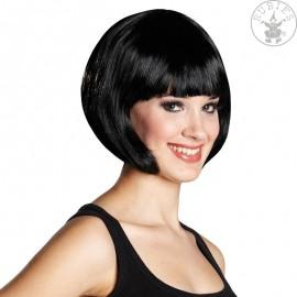 Trixy černá - karnevalová paruka