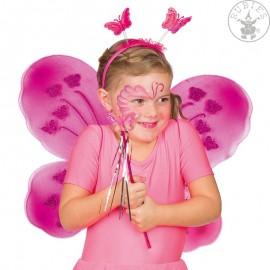 Set Motýlek - růžový