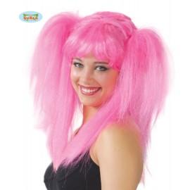 Paruka Couettes růžová
