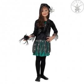 Pavoučí dívka - šaty s kapucí D
