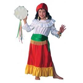 Cikánka - kostým pro děti D