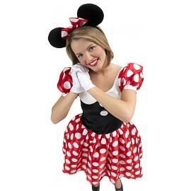 Minnie Mouse dospělá - licenční kostým D