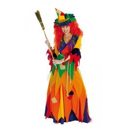 Hexe Kunterbunt - kostým D
