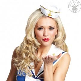 Námořnický klobouček s sponou