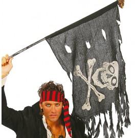 Pirátská vlajka 122 x 60 cm D Piráti, pirátky
