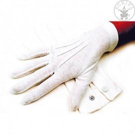Rukavice hráčské bílé