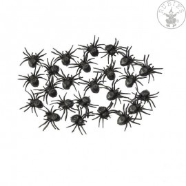 24 malých pavouků Halloween