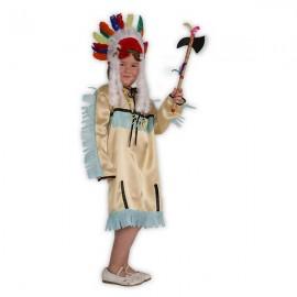 Indiánka - karnevalový kostým
