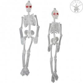 Závěsné kostry fluoreskující 2 ks - ca. 20 cm D