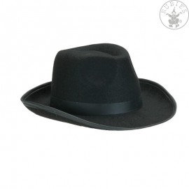 Pánský černý klobouk