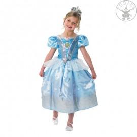 Kostým Popelky - Cinderella Glitter - licenční kostým D