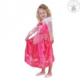 Kostým Šípkové růženky s flitrovým potiskem - licenční kostým