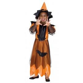 Půlnoční čarodějka oranžová D