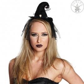 Čarodějnický klobouček s vlasovou sponou D
