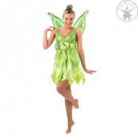 Adult Tinkerbell -kostým s křídly