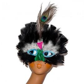 Maska péřová
