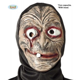 Maska s kapucí - zdeformovaný D