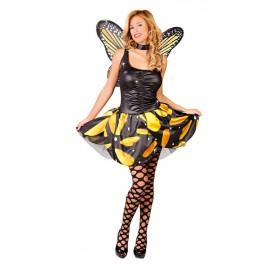 Kostým motýl žlutý D