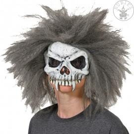 Maska Skull s vlasy (240925)
