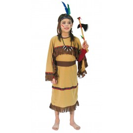 Kostým indiánka D