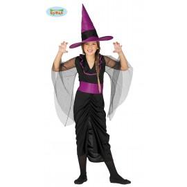Kostým černá čarodějnice D