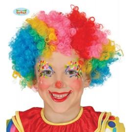 Paruka dětská multicolor - klaun