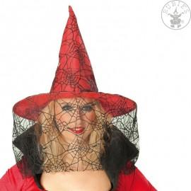 Čarodějnický červený s tylem D