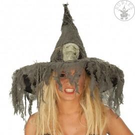 Čarodějnický klobouk s lebkou D