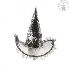 Čarodějnický klobouk průhledný dětský