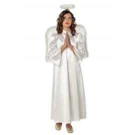 Anděl 3 - 4 roky - kostým s křídly a svatozáří
