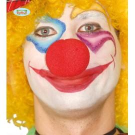 Molitanový nos červený - klaun 5 cm