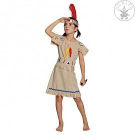 Indiánka - dětský kostým D