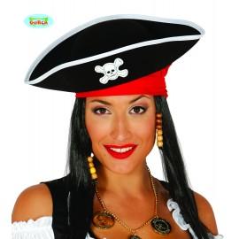 Pirátský klobouk filcový