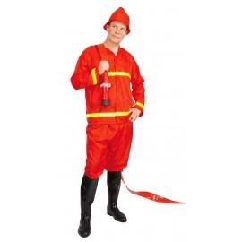 Hasič - kostým s čepičkou D