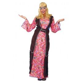 Hippie - dámský dlouhý kostým D