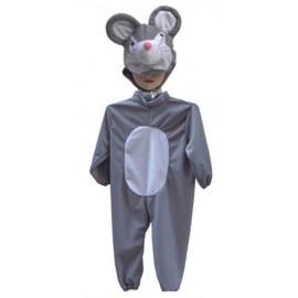 Kombinéza s kapucí - myška
