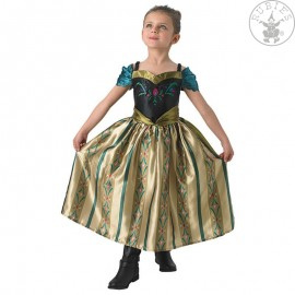 Anna Coronation Dress Frozen Child - korunovační kostým