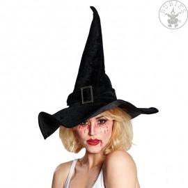 Čarodějnický klobouk sametový vel. 59 D