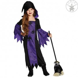 Fialová čarodějnice s kapucí