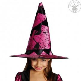 Dětský čarodějnický klobouk s potiskem D